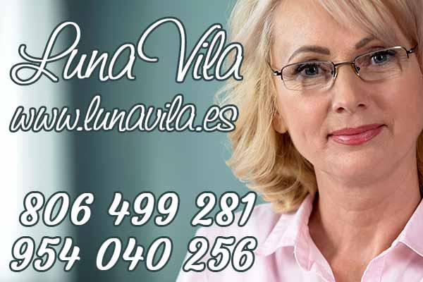 🥈Luna Vila, te mostrará todo lo que una de las mejores videntes y tarotistas buenas fiables en España, puede hacer por ti
